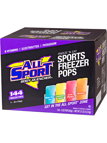 All Sport Body Quencher – Freezer Pops