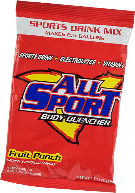 All Sport Body Quencher – Drink Mix – Fruit Punch – 2.5 gal