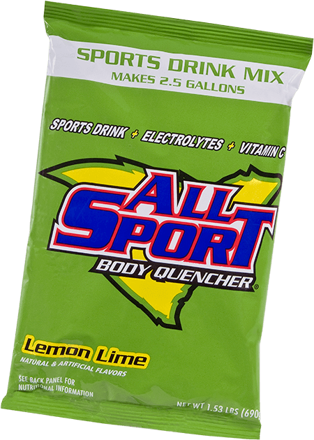 All Sport Body Quencher – Drink Mix – Lemon Lime – 2.5 gal