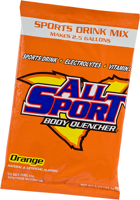 All Sport Body Quencher – Drink Mix – Orange – 2.5 gal