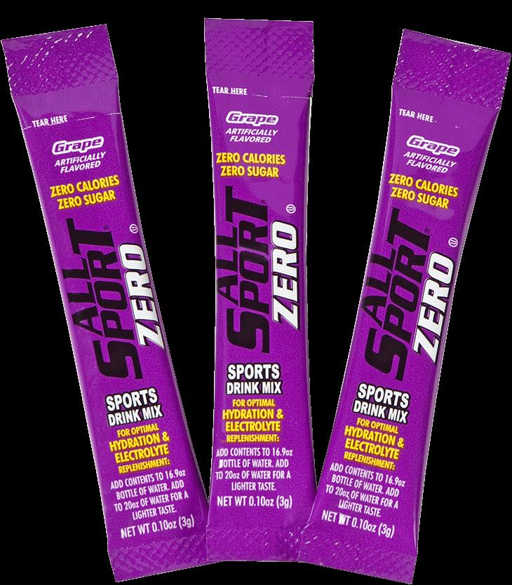 All sport zero sports drink - grape