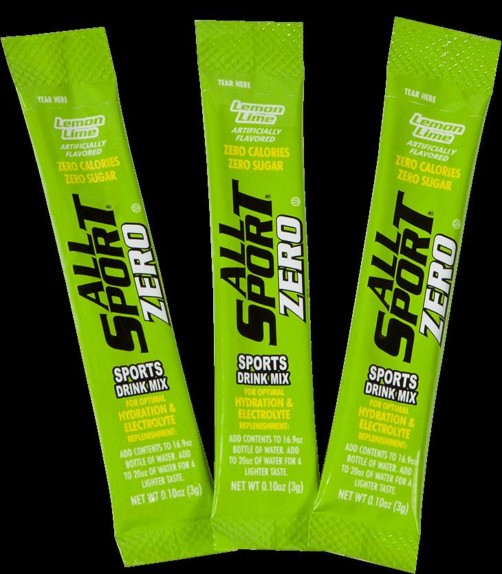All sport zero sports drink - lemon lime