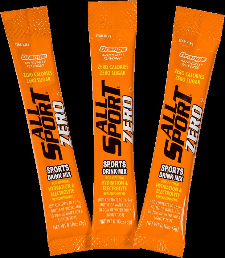 All sport zero sports drink - orange