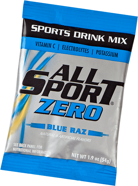 All Sport Zero – Drink Mix – Blue Raz – 2.5 gal
