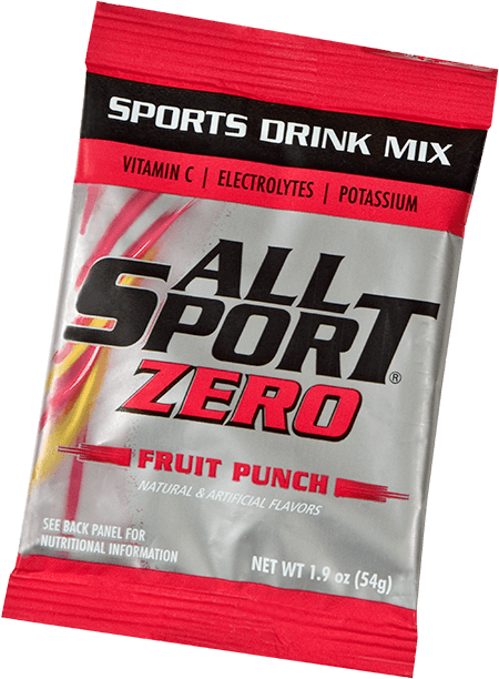 All Sport Zero – Drink Mix – Fruit Punch – 2.5 gal