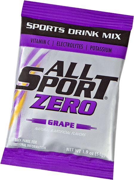 All Sport Zero – Drink Mix – Grape – 2.5 gal