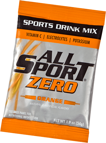 All Sport Zero – Drink Mix – Orange – 2.5 gal
