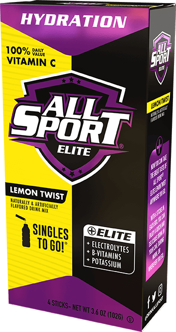 All Sport Elite – Drink Mix – Lemon Twist